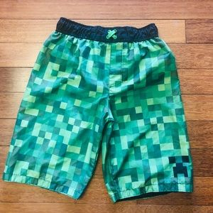 Minecraft swim trunks